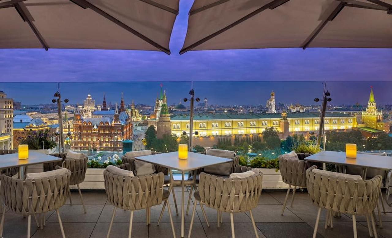 Moscow Ritz-carlton views