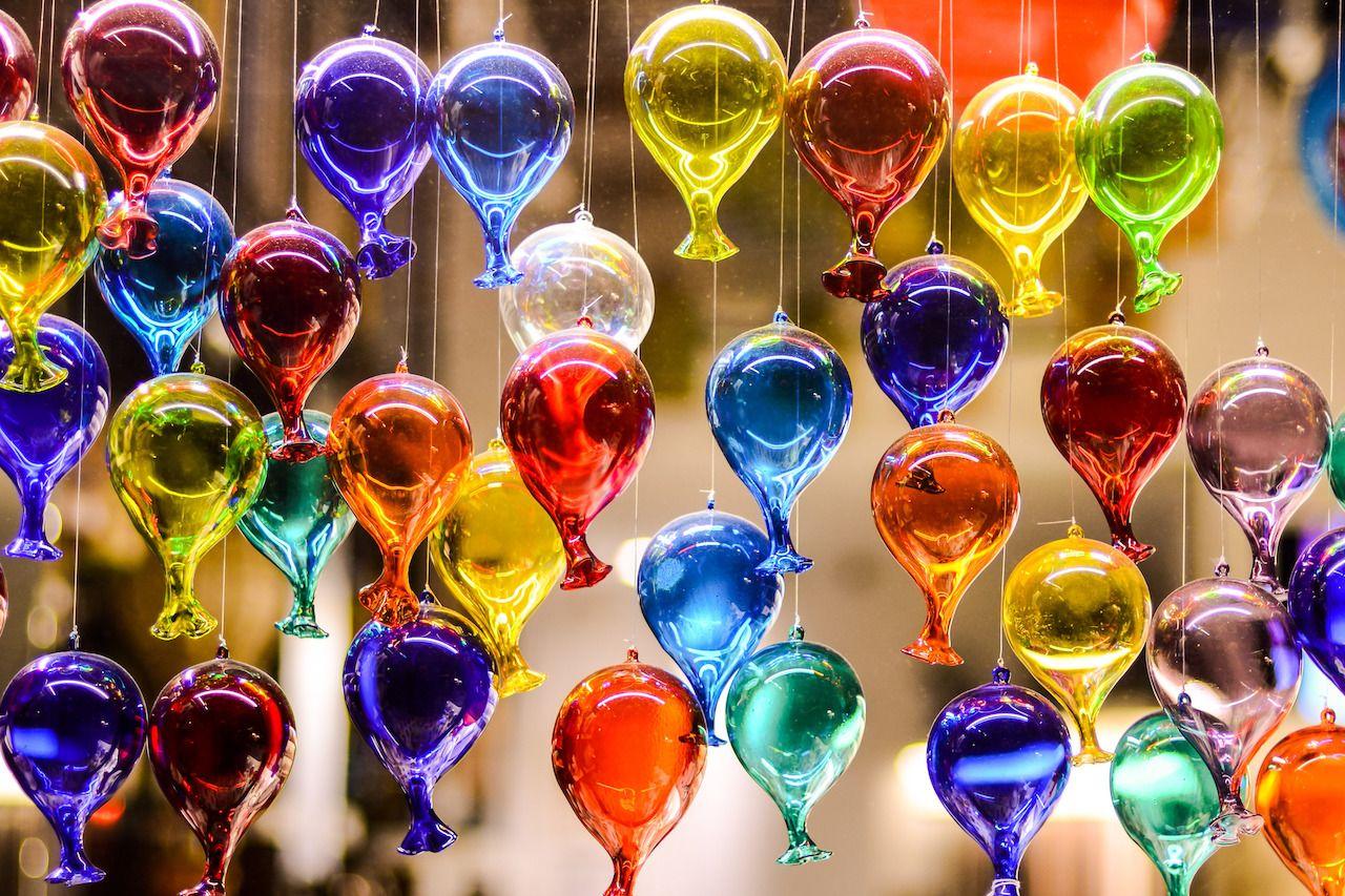 Murano glasswork
