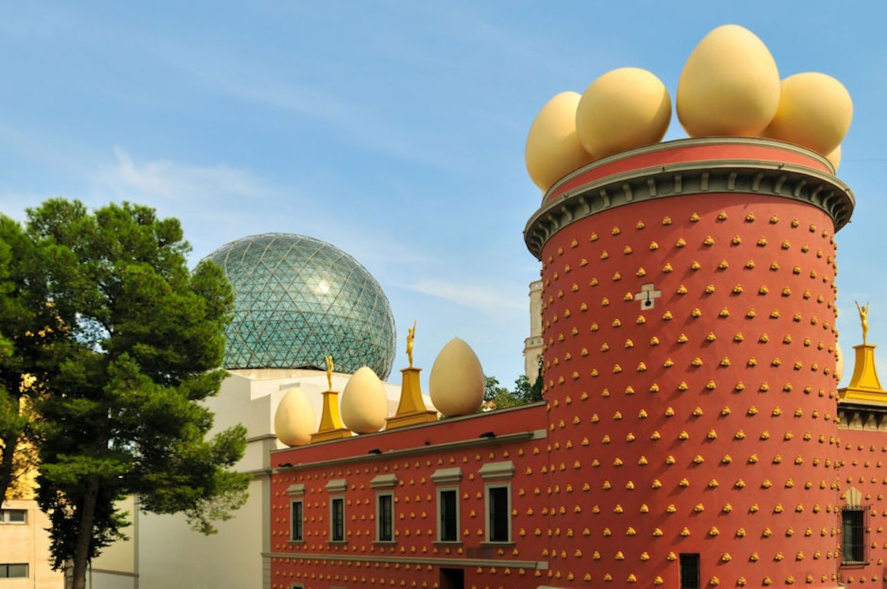 Museum of Salvador Dali in Figueras, Spain