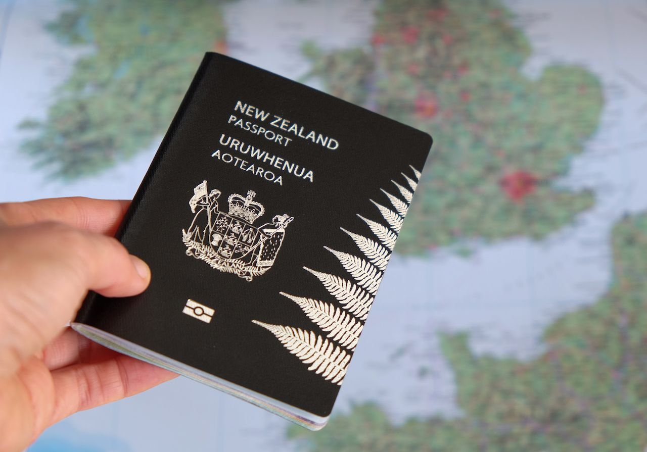 New Zealand passport