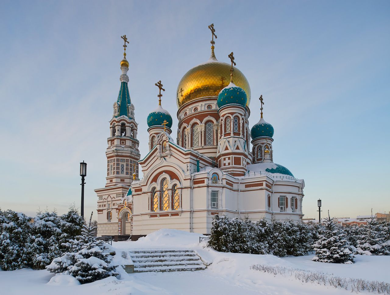 Omsk Church Russia