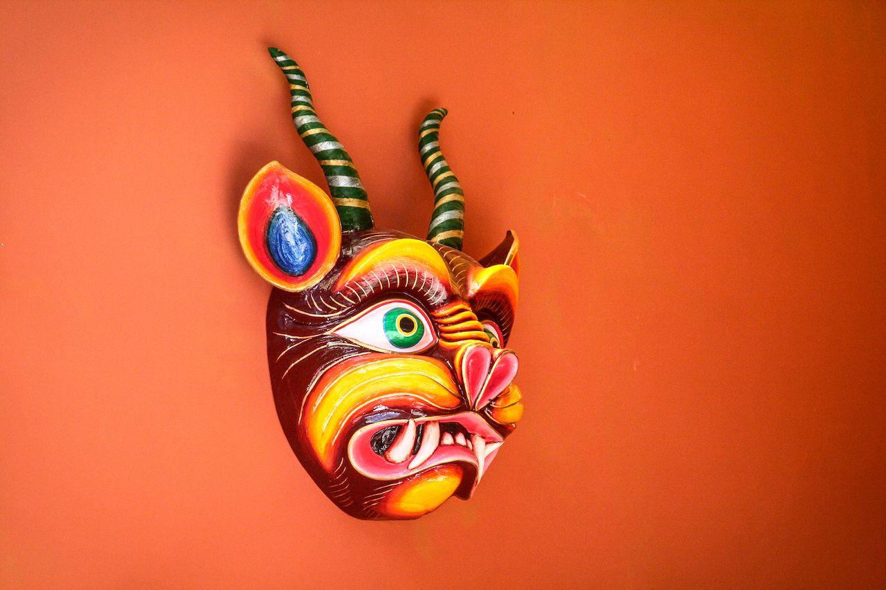 Peruvian wooden craft