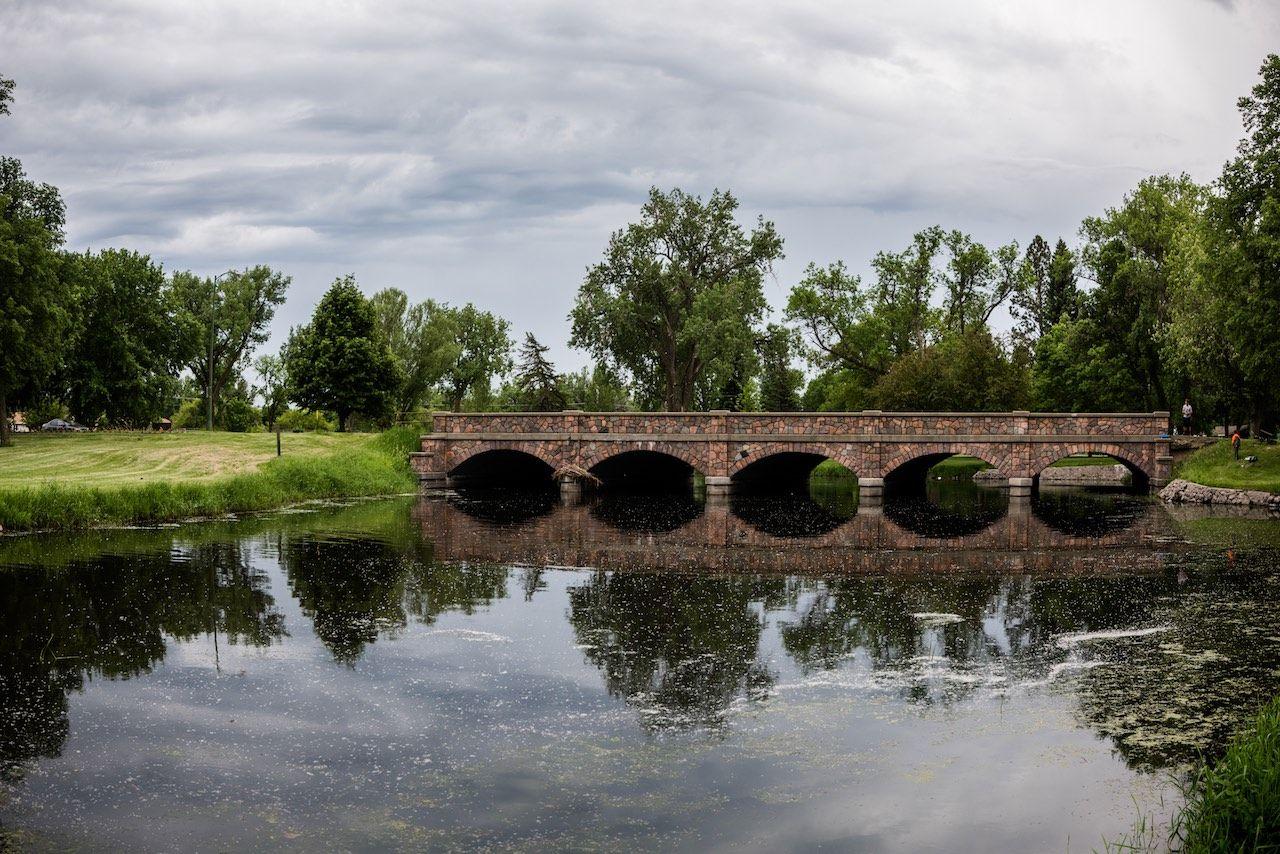 Riverside Bridge Watertown South Dakota