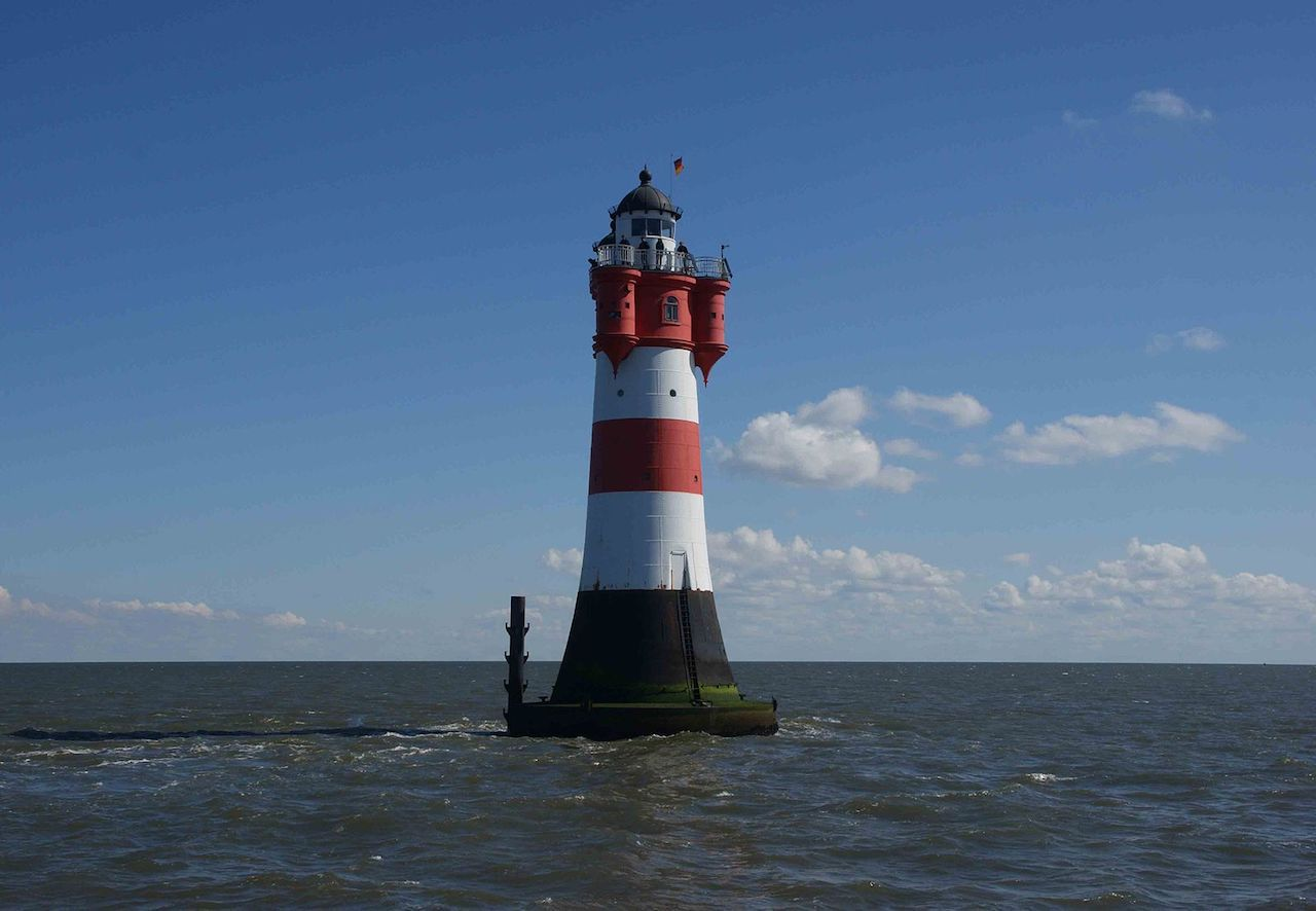 Roter Sand Lighthouse in Germany