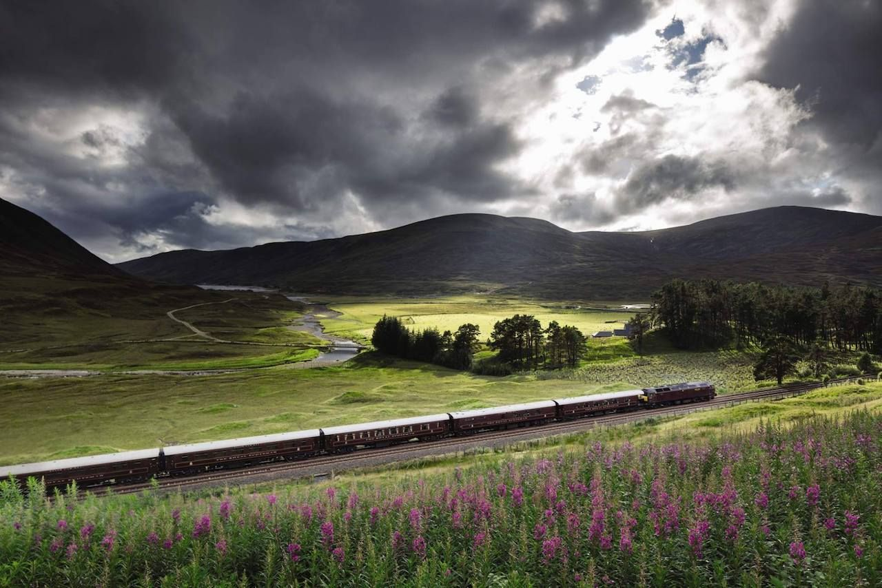 Royal Scotsman in Scotland