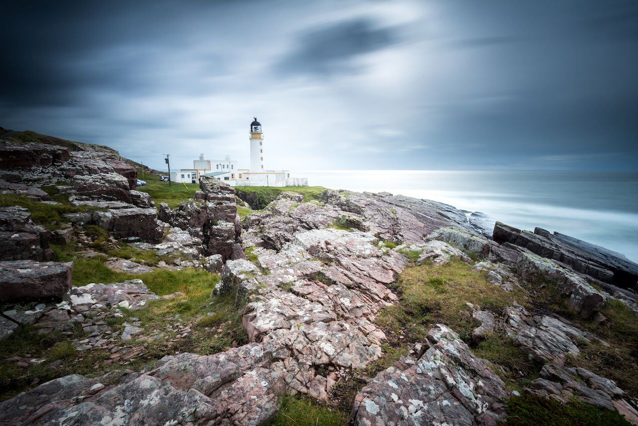 Rua Reidh Lighthouse in Scotland