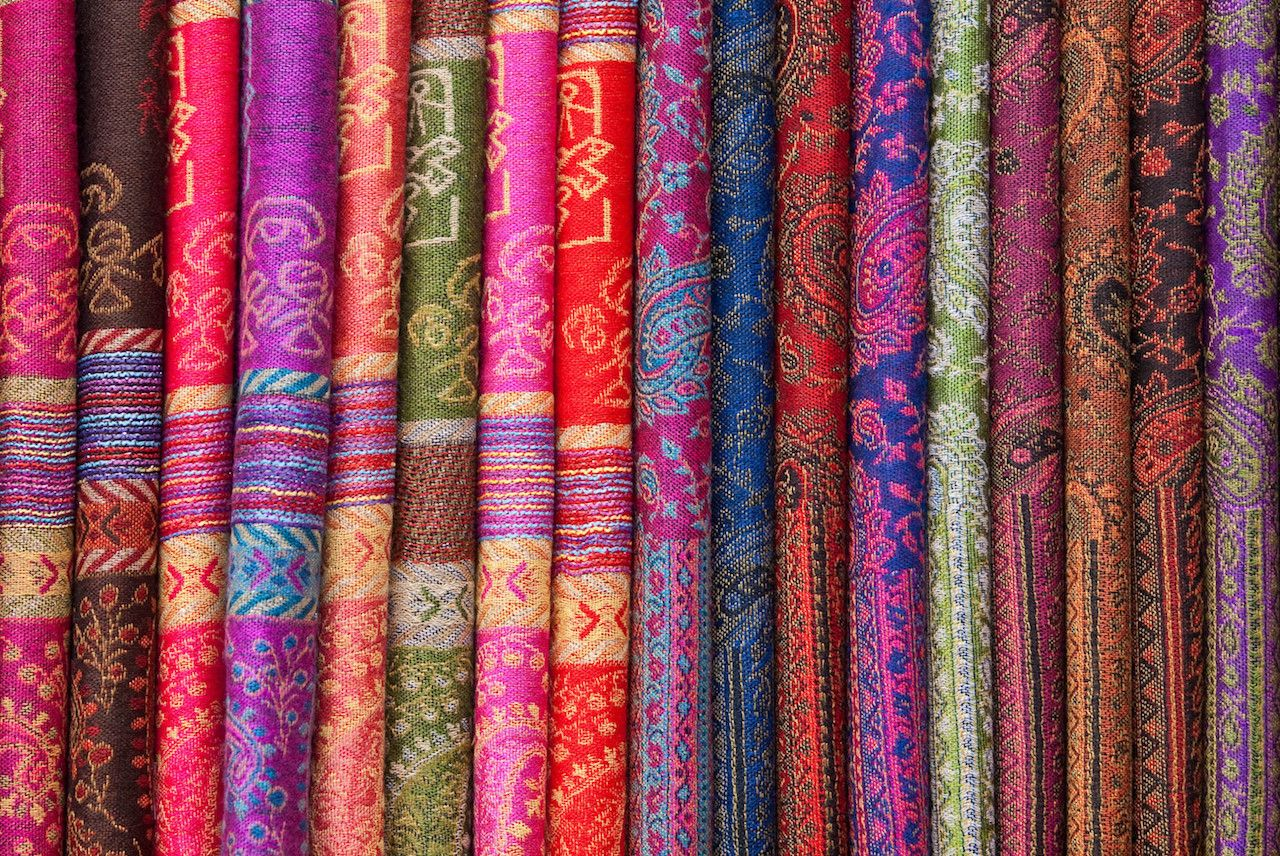 Silk Chinese scarves