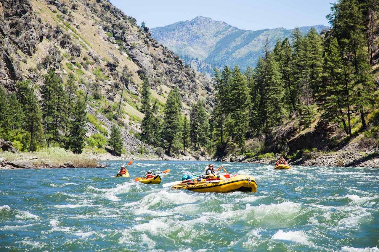 Snake River, Hells Canyon, Idaho