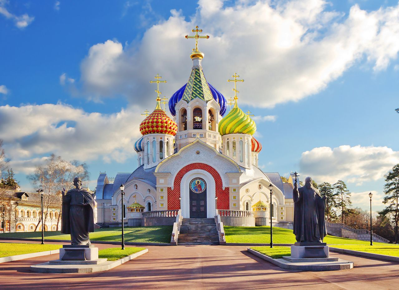 St igor church Russia