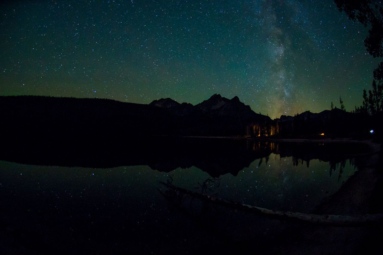 Stanley dark skies, Idaho