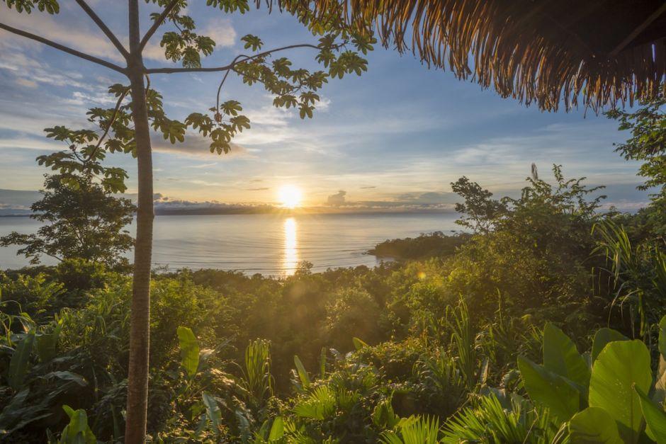 Sunset Lapa Rios Costa Rica