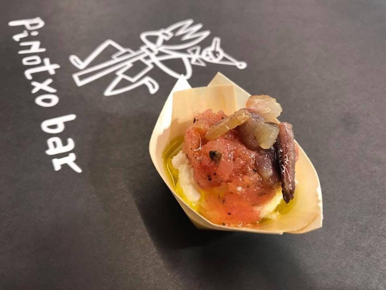 Tapas from Pinotxo Bar in Barcelona
