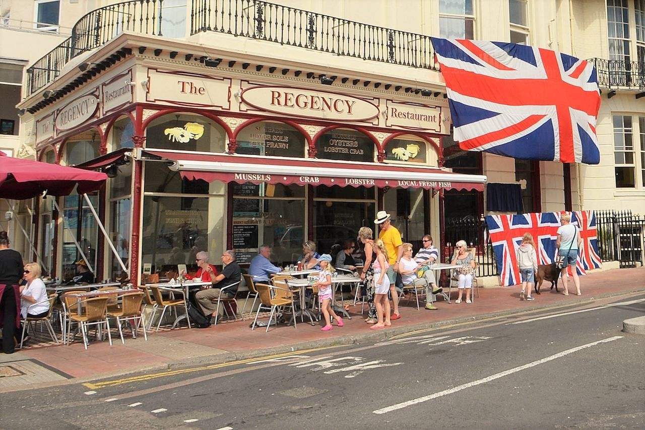 The Regency restaurant Brighton Sussex