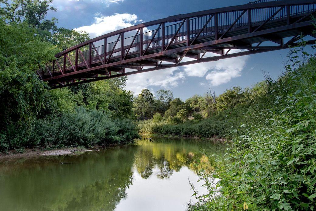 Trinity River Bridge Legacy Park Arlington Texas