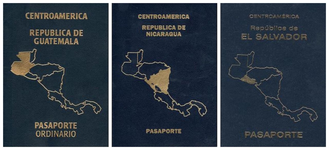 central American passports