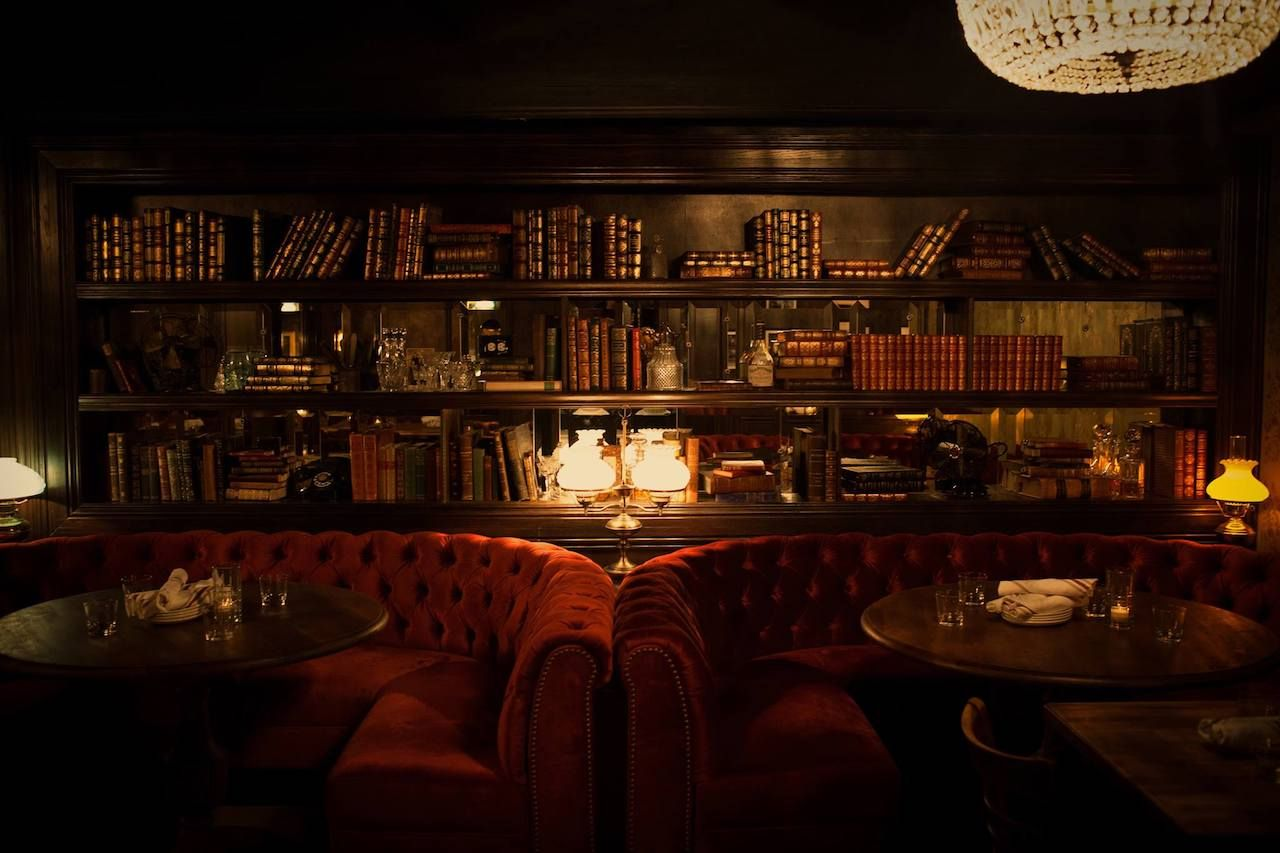 The 13 Coolest Underground Bars Literally Around The
