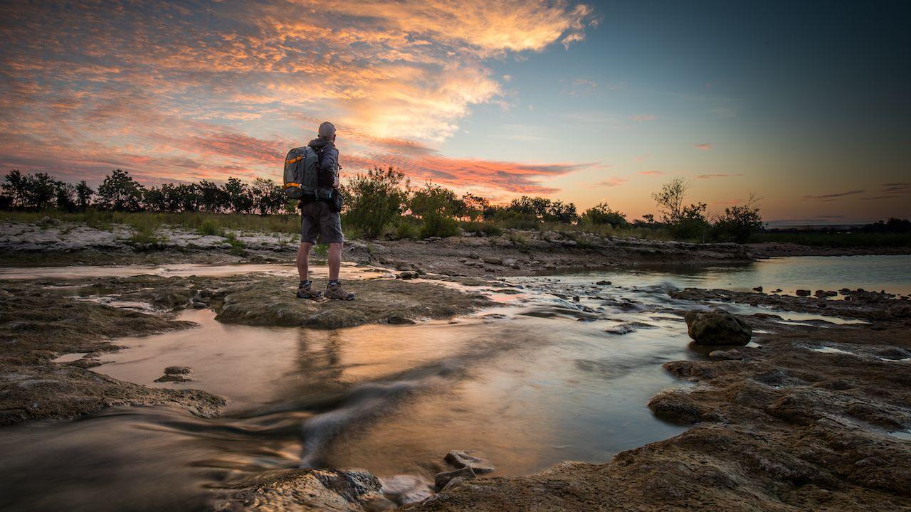sunrise taken in San Marcos, Texas