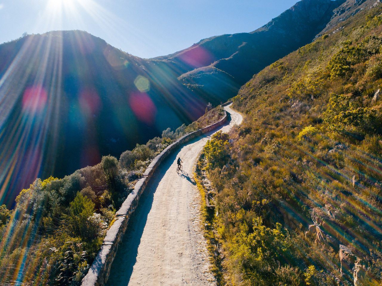 Explore South Africa on a bicycle