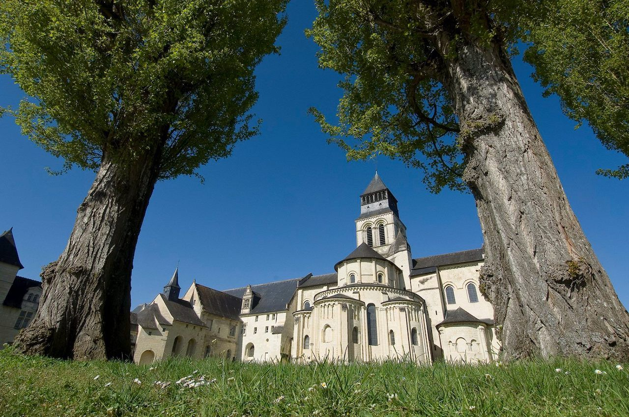 Abbaye Royale de Fontevraud from the outside