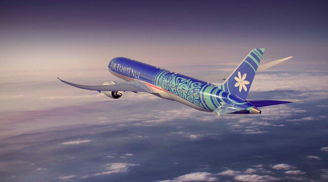 Air Tahiti Nui new livery