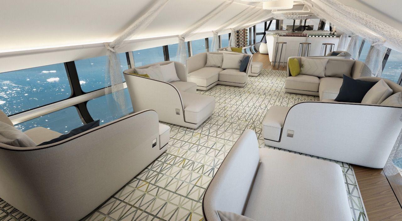 Airlander 10 interior
