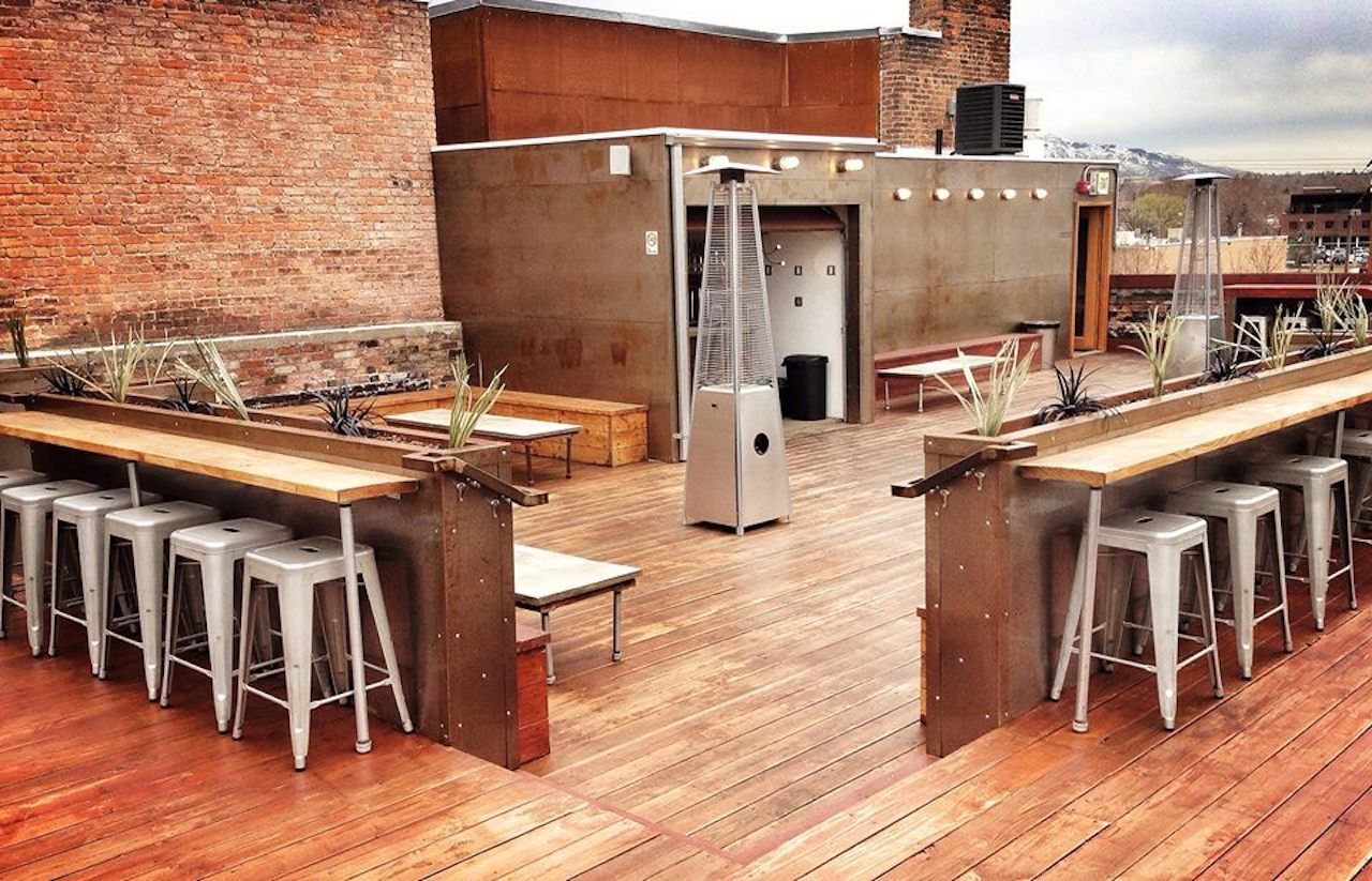 Alleged rooftop bar in Ogden, Utah