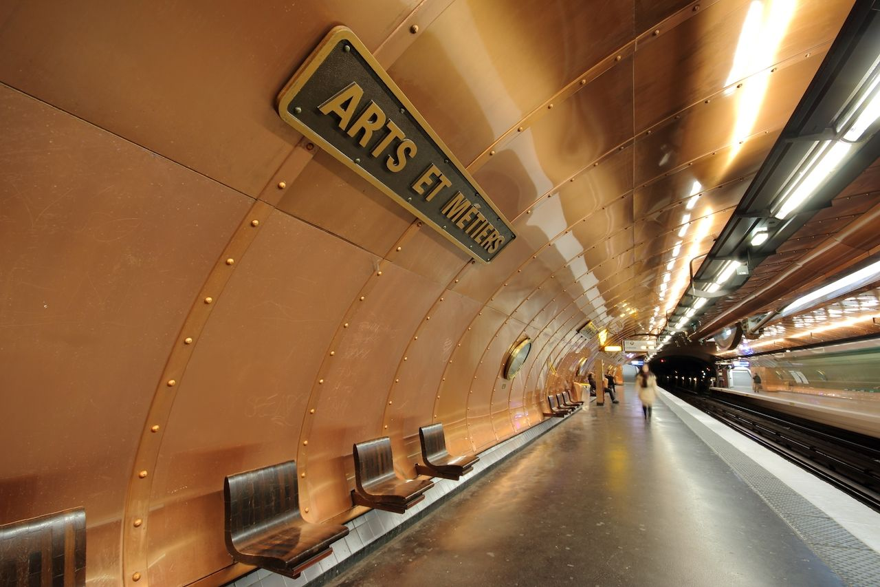 Arts et Metiers station France
