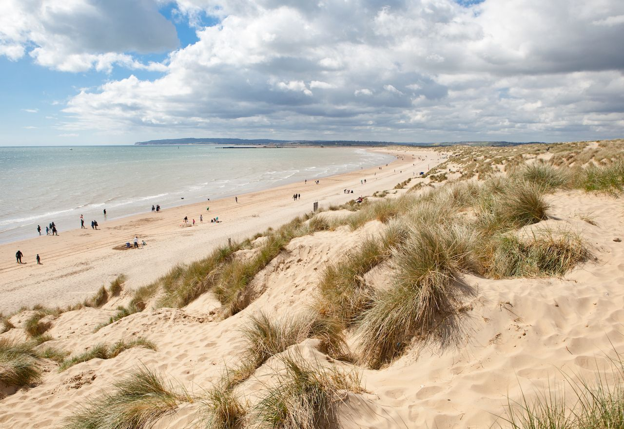 Camber sands, East Sussex, England