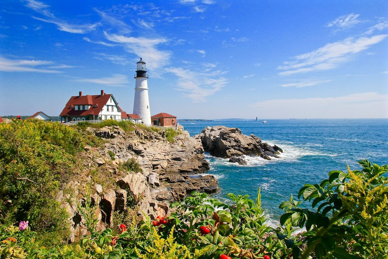 Cape Elizabeth, Portland's head lighthouse
