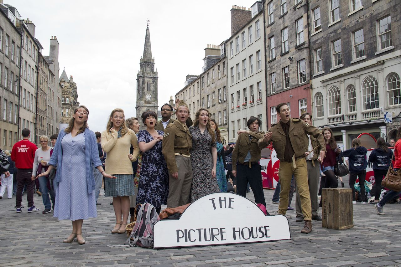 Cast of the Picture House Musical in Edinburgh