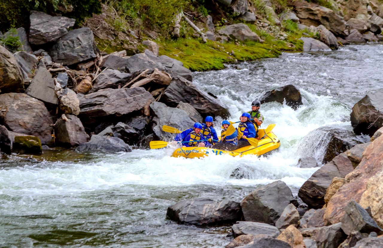 Cool river-rafting trips in Colorado
