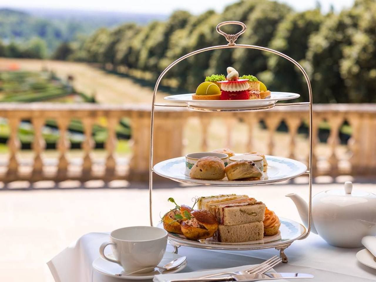 Cliveden House high tea