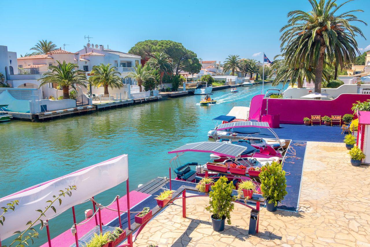 Empuriabrava, Spain canal