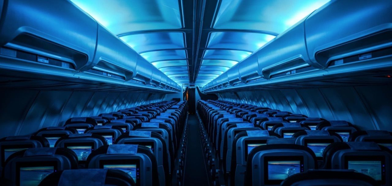 7 cool and artsy plane interiors