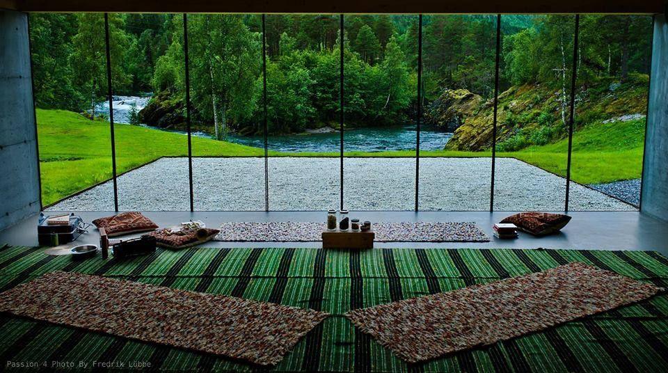 Juvert Landscape Hotel interior, Norway