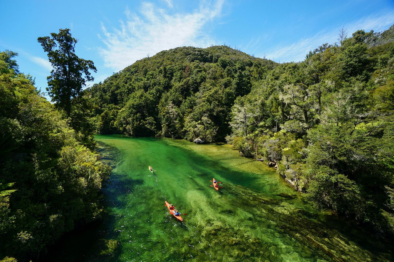 Best places to kayak in New Zealand