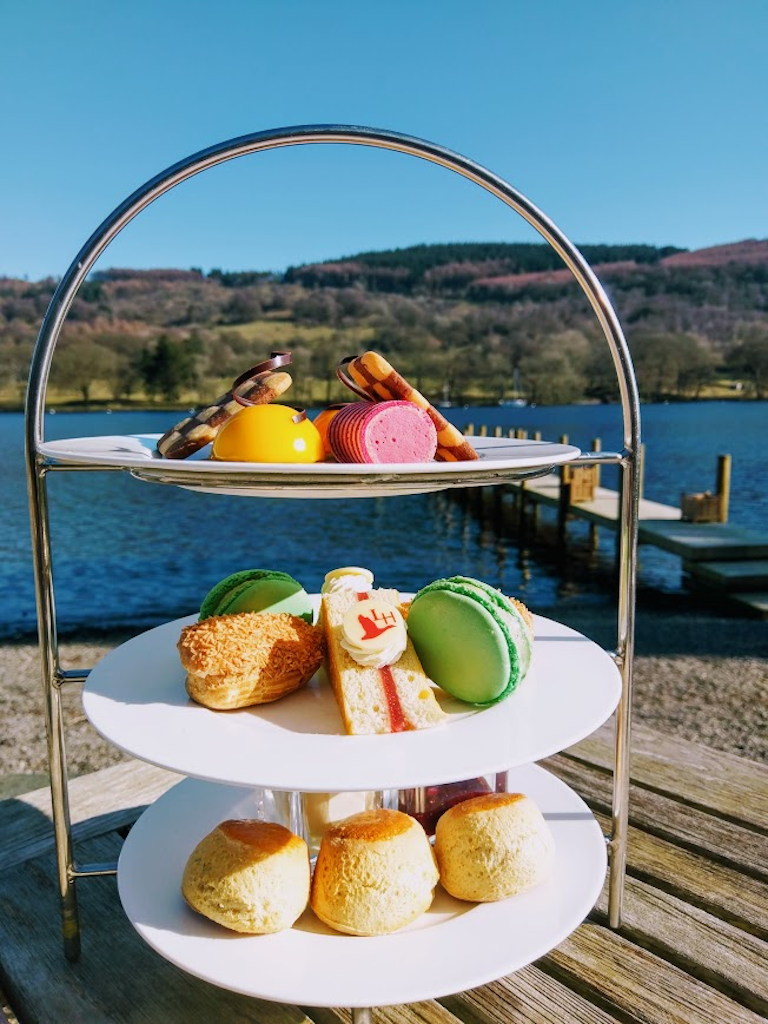 Lakeside Hotel high tea