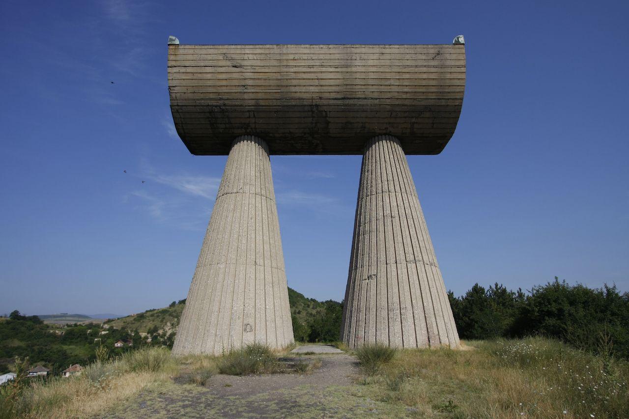 Miner's Monument in Kosovo