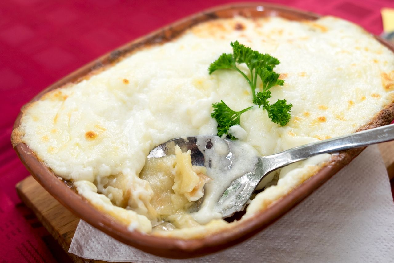Eastern European dish