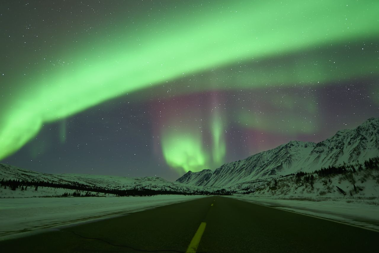 Northern Lights in Fairbanks, AK