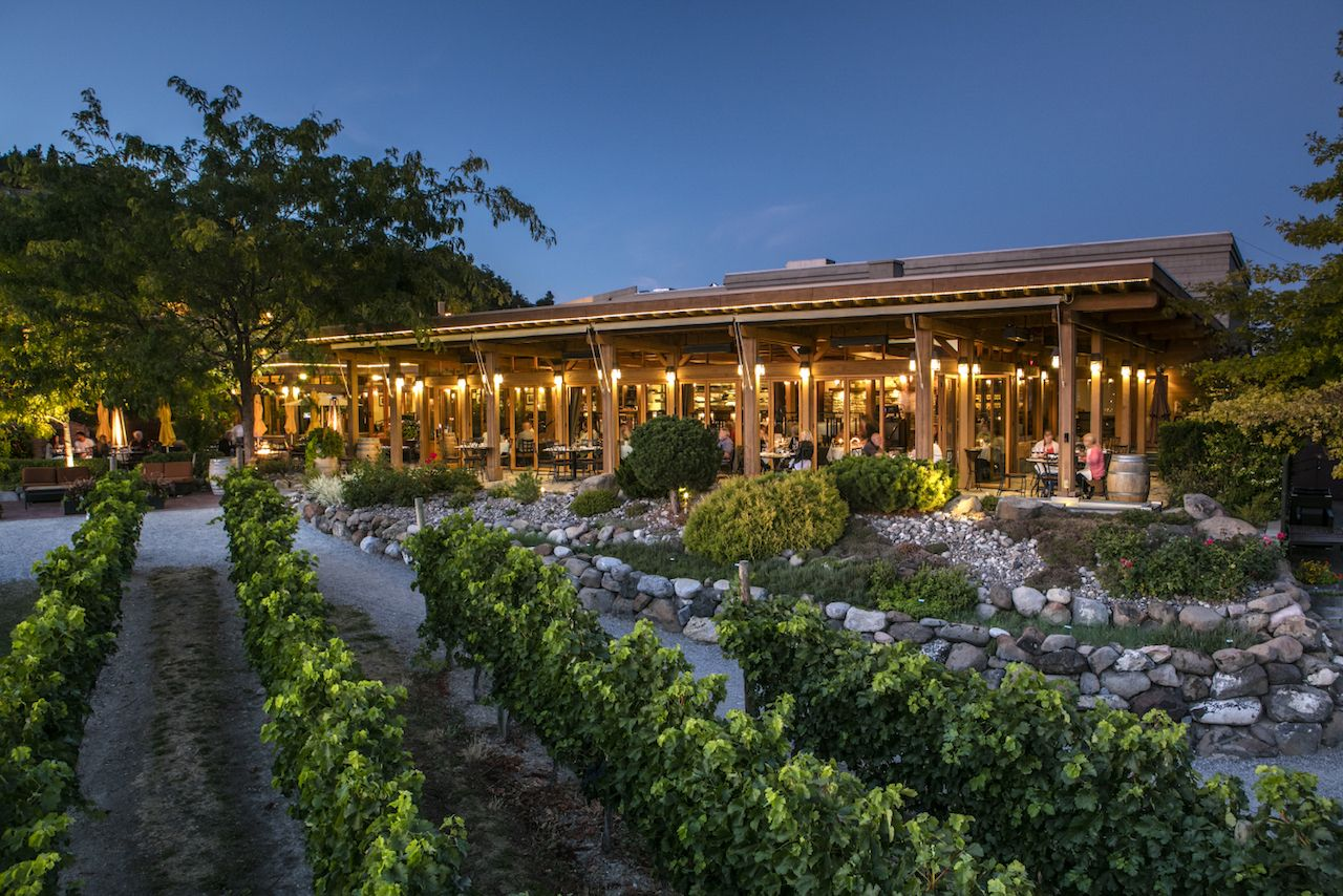 Old Vines Restaurant at Quails' Gate