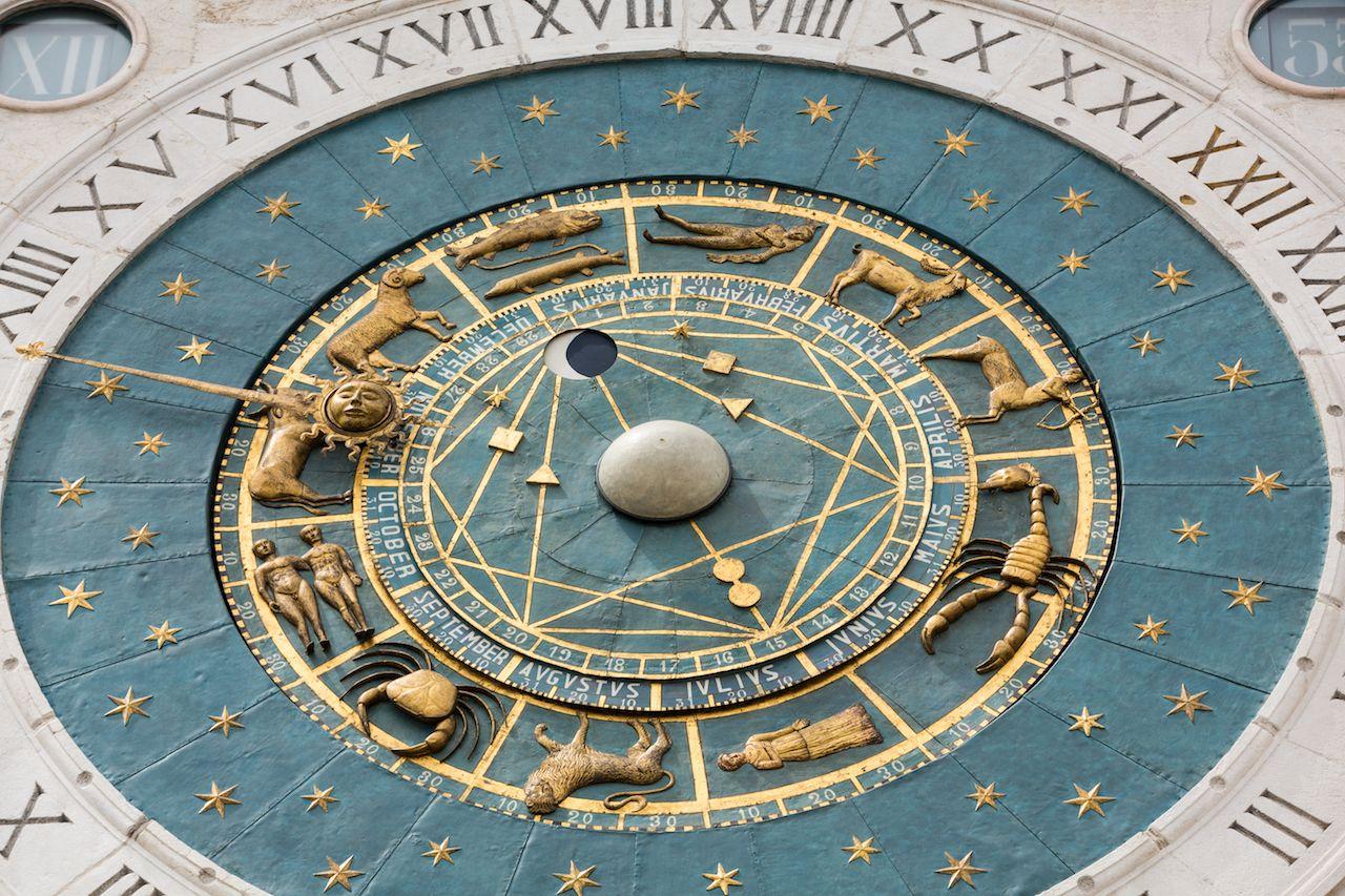 Padua clock face