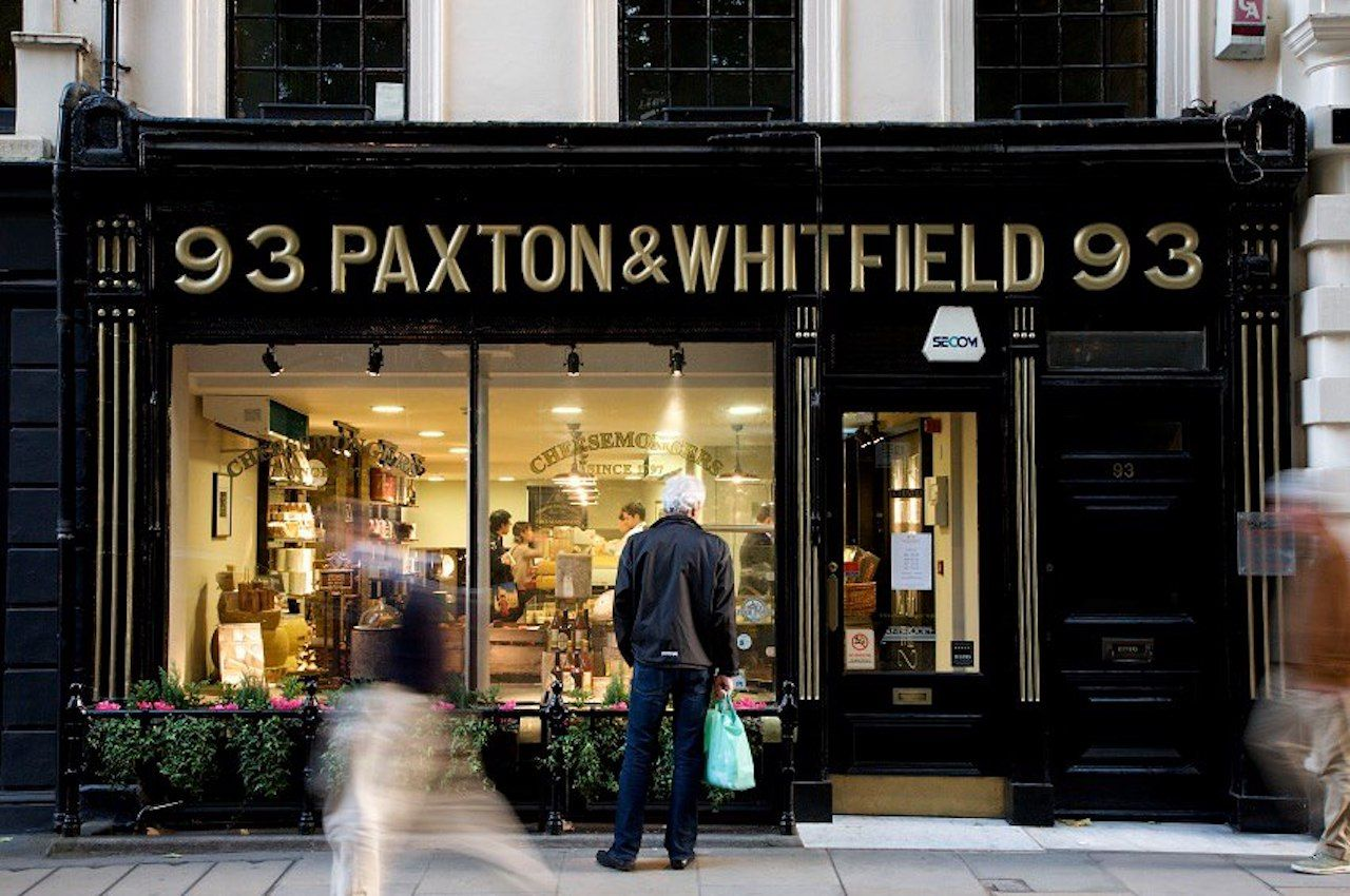 Paxton and Whitfield in London