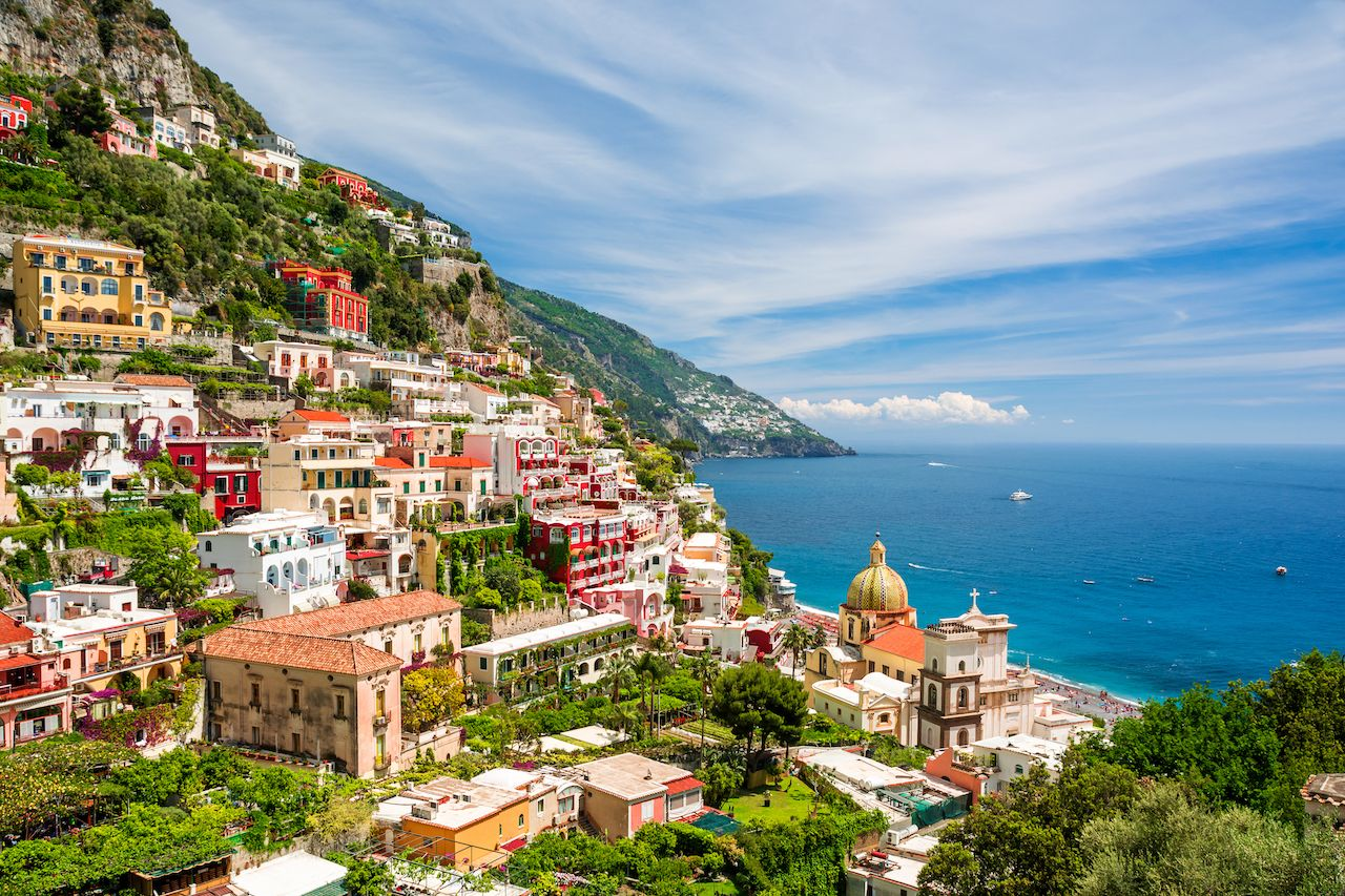 Tour the Amalfi Coast by motorcycle