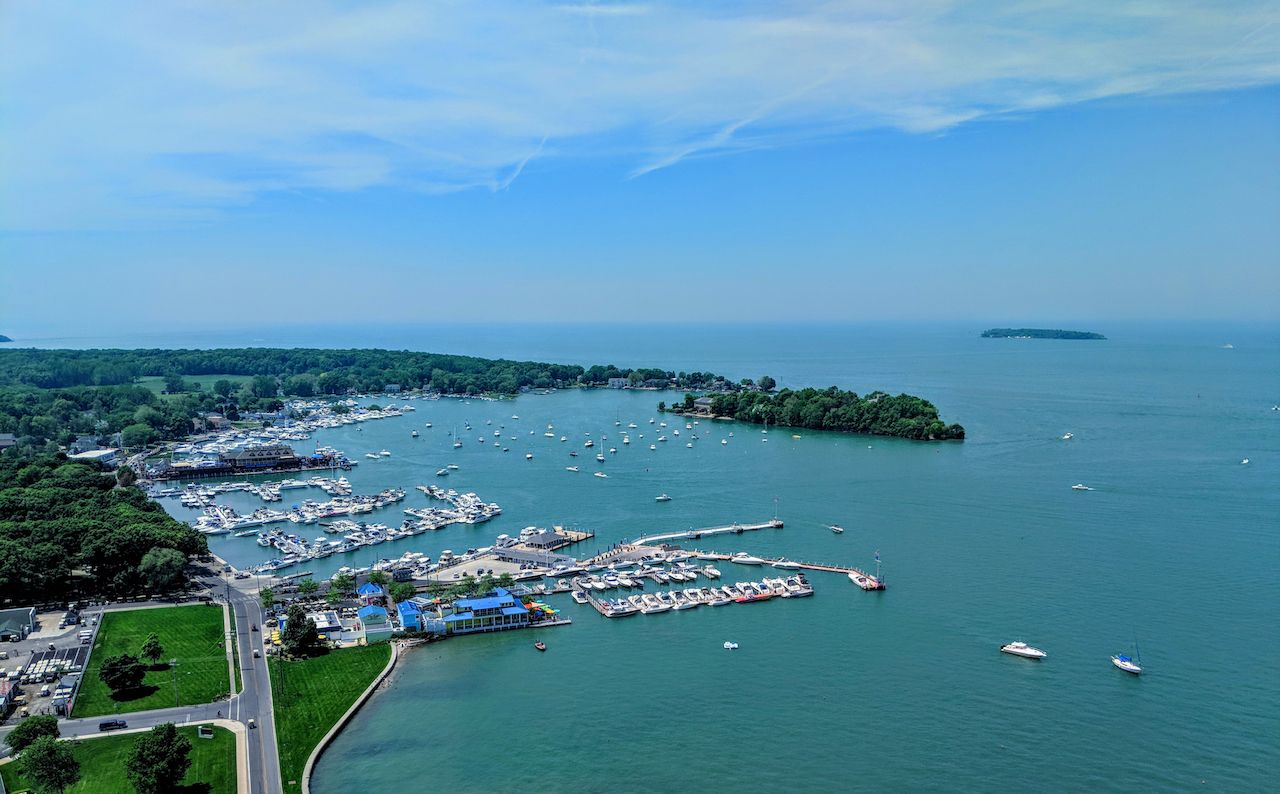 Sweeping view of Put-In-Bay