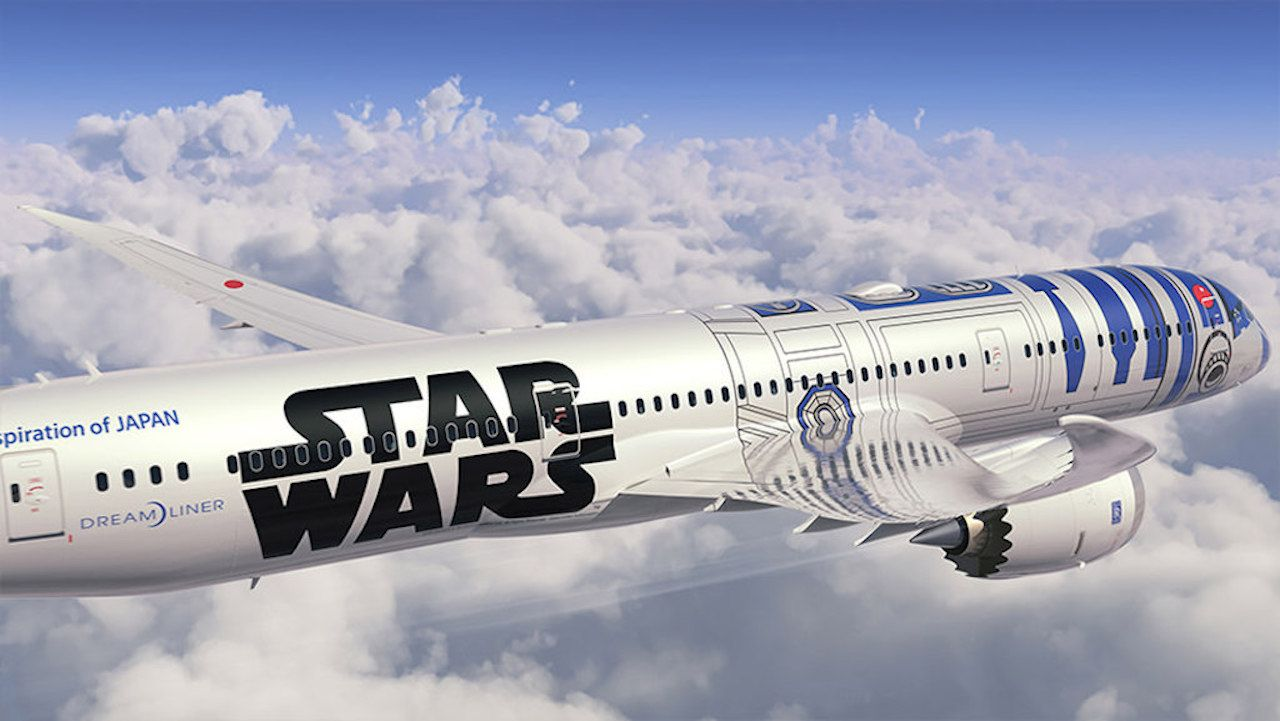 R2D2 flying livery