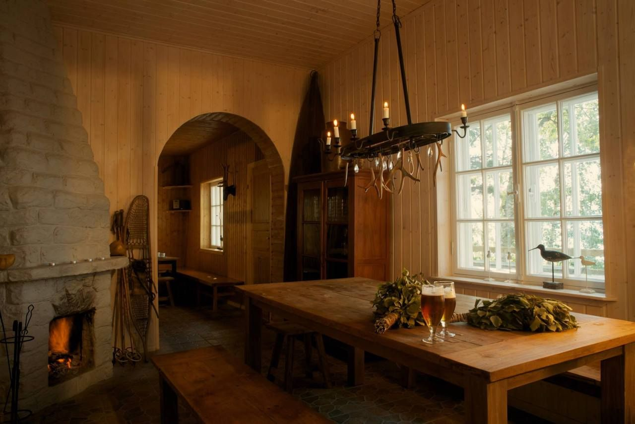 Rantalinna Hotel interior, Finland