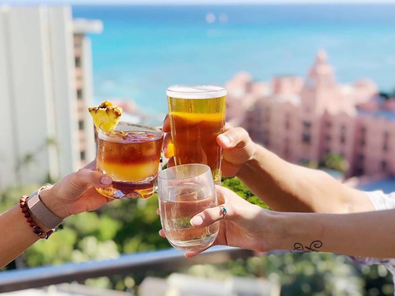 SKY Waikiki rooftop bar