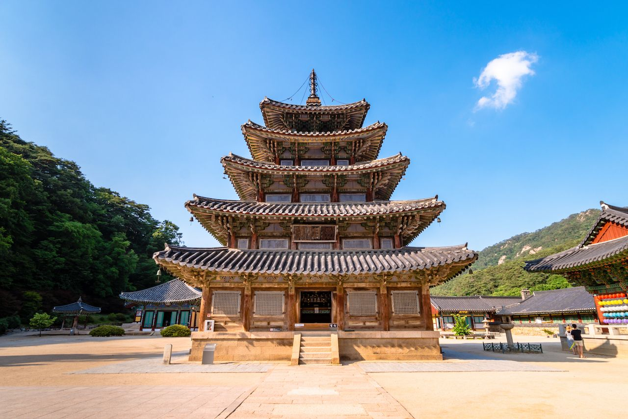 Sansa, Korea World Heritage Site 2018