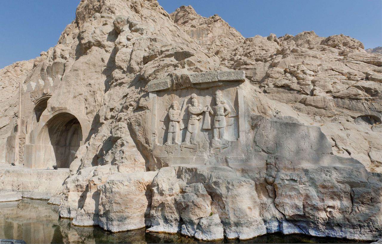 Sassanid archaeological landscape of Fars Region